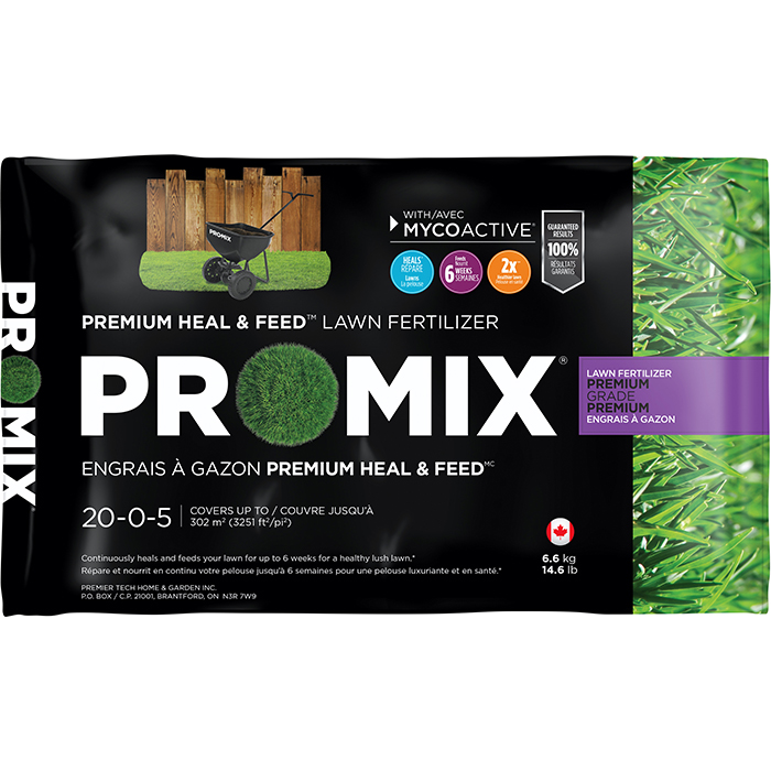 PRO-MIX Lawn Fertilizer 20-0-5