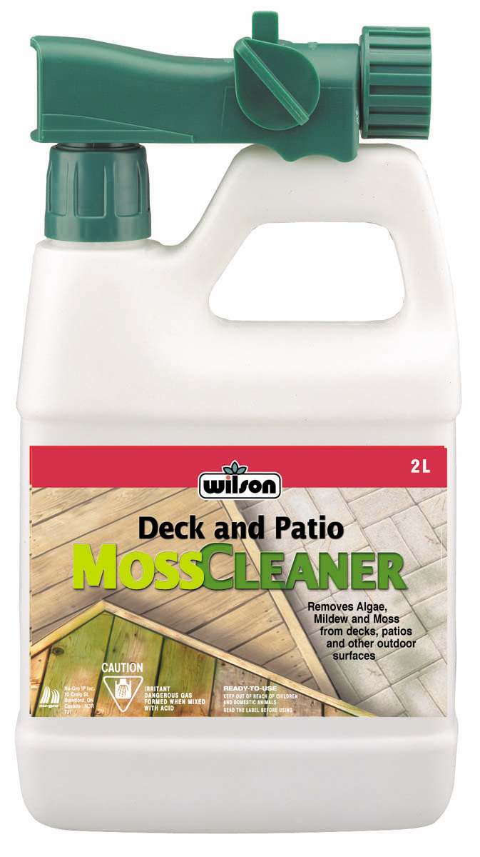 7202140 Wilson Deck and Patio Moss Cleaner 2L Hi Res E