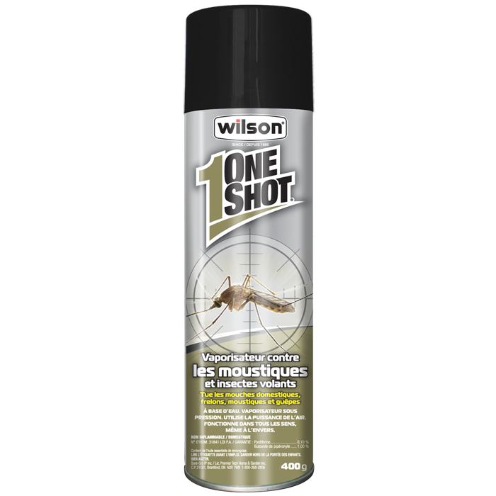 7306490 Wilson OneShot Mosquito & Flying Insect Killer FR