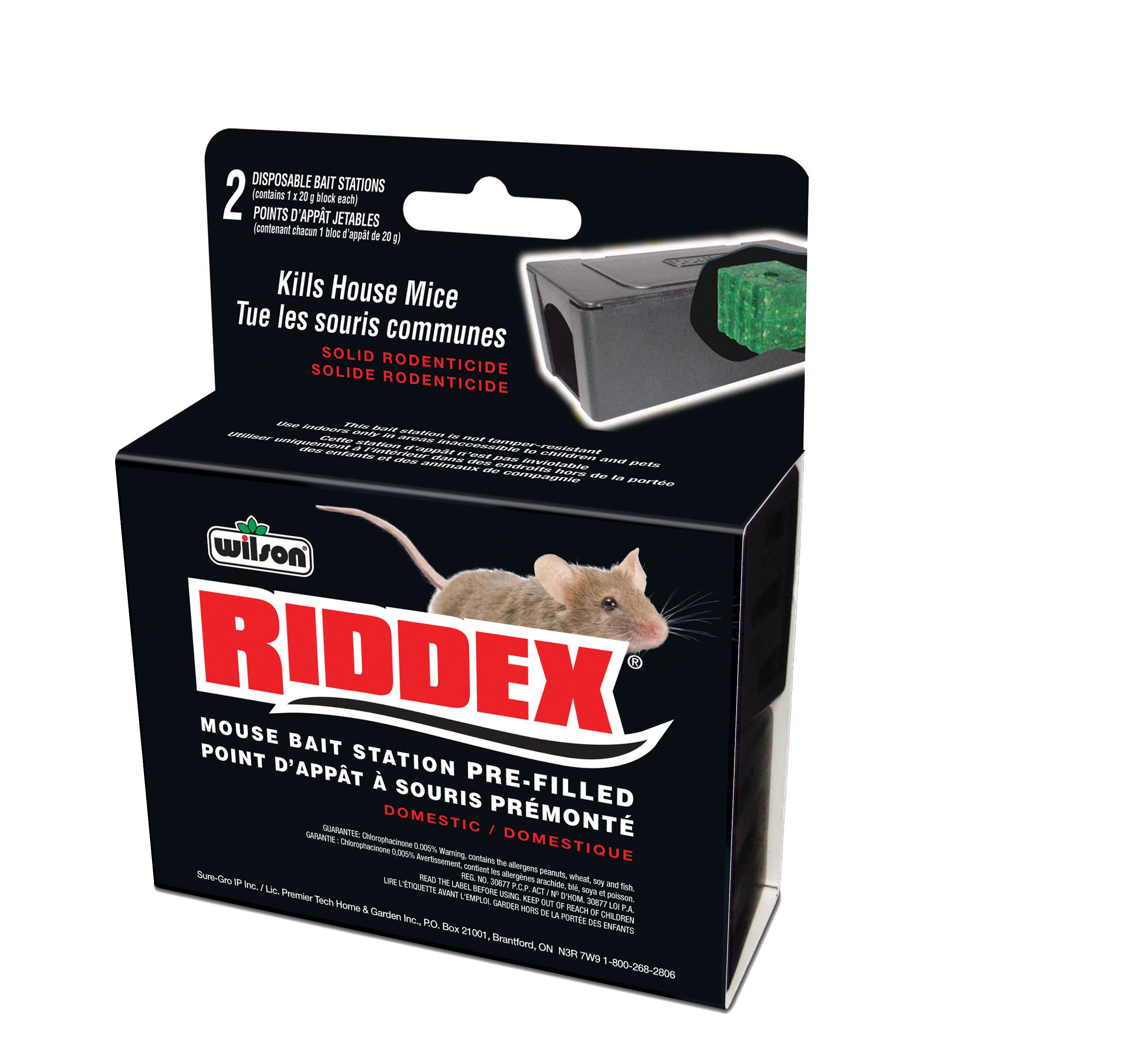 7740170 Wilson Riddex Mouse Bait Station 2pk Hi Res EF
