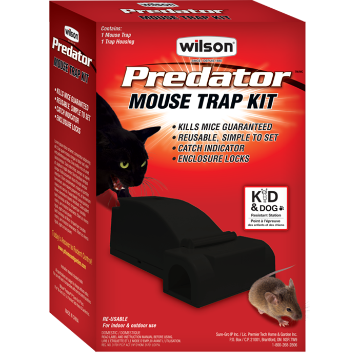 7741410 Wilson Predator-Mouse Trap Kit