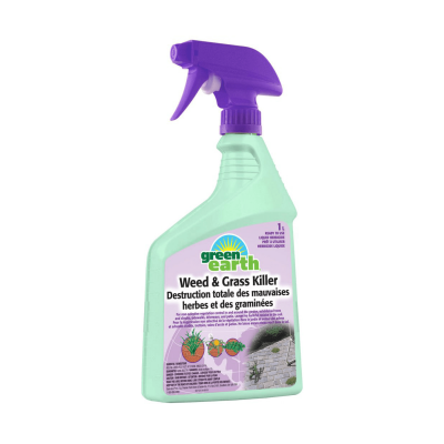 Green Earth Herbicide pour mauvaises herbes