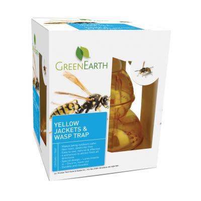 Green Earth Yellow Jackets Wasp Trap