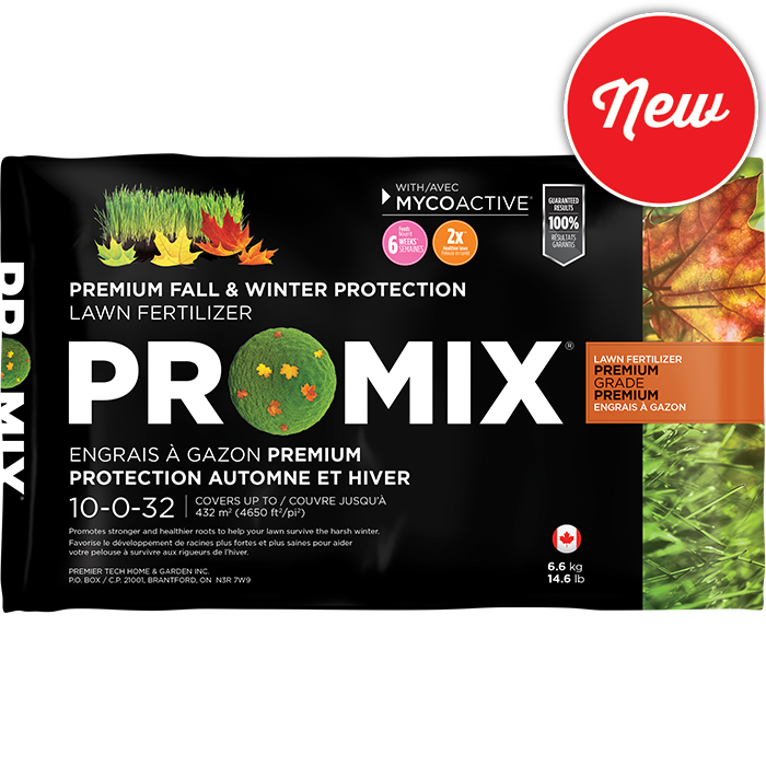 PRO-MIX Fall & Winter protection lawn fertilizer